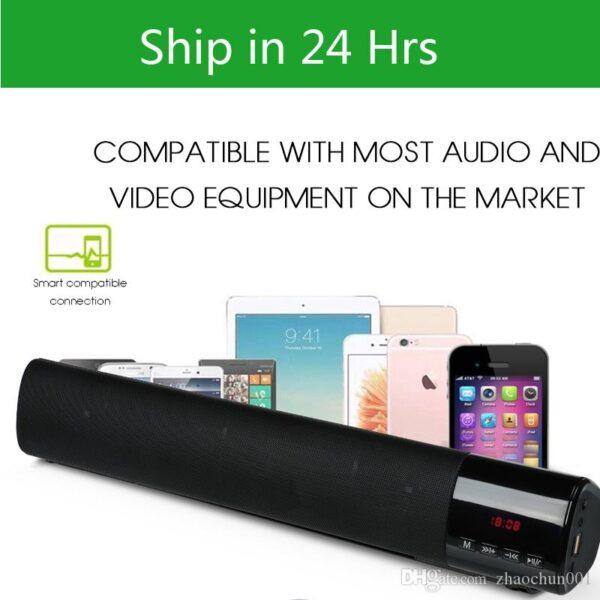 B28s Bluetooth Speaker W/ LED Display Screen