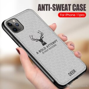 Luxury Cloth Deer Phone Case