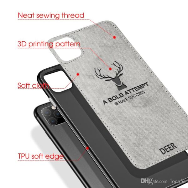 Luxury Cloth Deer Phone Case